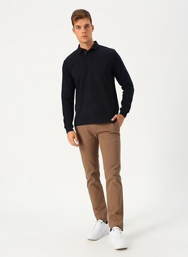 Cotton Bar Sweatshirt Lacivert